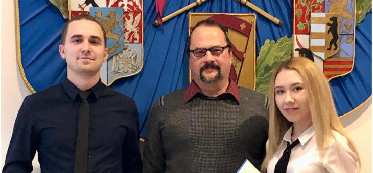 Ежегодное награждение студентов славянской кафедры Университета Манитобы